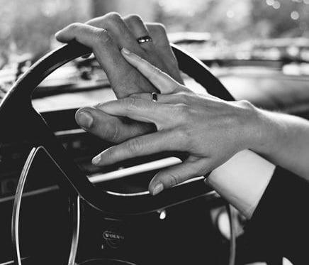 Posição de sexo dentro do carro